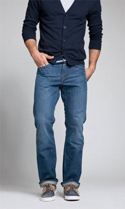 Traveling pants: Andy Dunn's Bonobos jeans.