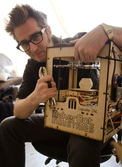Bre Pettis, co-founder of MakerBot Industries