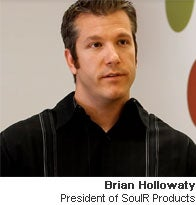 Brian Hollowaty, president of SoulR Products