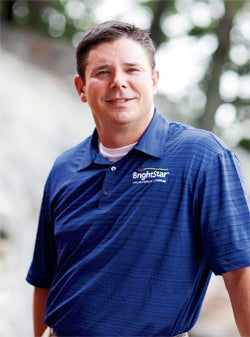 Making his experience count: Rick Collett of BrightStar Care.