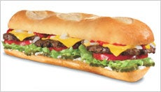 Carl's Jr. Footlong Cheeseburger