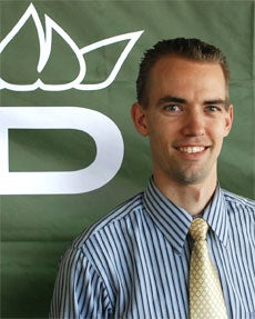Dixon Golf co-founder and COO Dane Platt.