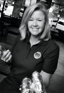 Laura Leigh Lrake's big idea was to go small at her Moe's Southwest Grills.