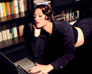 This one time, at Bandcamp: former Dresden Dolls singer and pianist Amanda Palmer.
