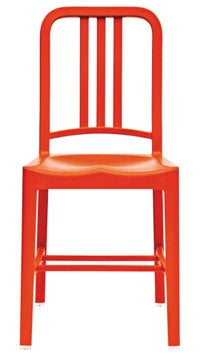 Sit tight: The Emeco Navy chair.