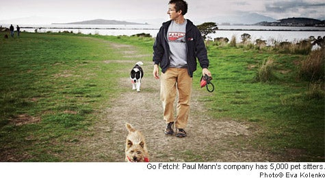 Dog-walker in Chief