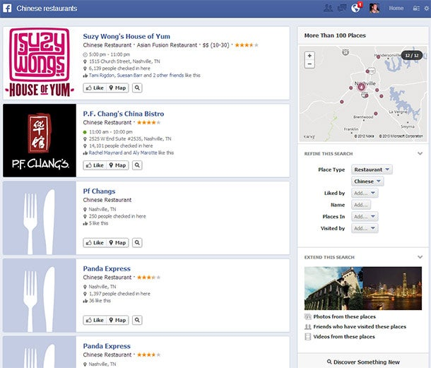 Early Test: Facebook's Graph Search a Dud for Marketers