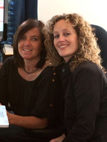 Fanzooloo founders Kaylyn Thornal (left) and Natasha Bedu (right).