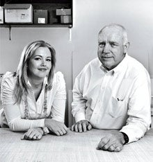 Ties that bind: Fastsigns' Glenn Dodd and his daughter, Helen Kutach