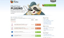 Firefox Plugin Check