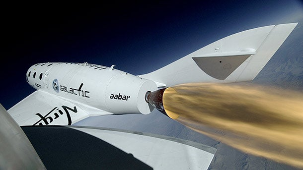 Preparing for its First Space Trip, Richard Branson's Virgin Galactic Breaks Sound Barrier