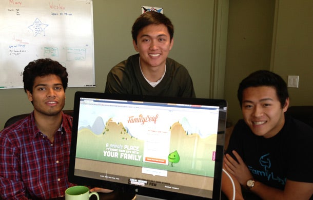 FamilyLeaf.com co-founders