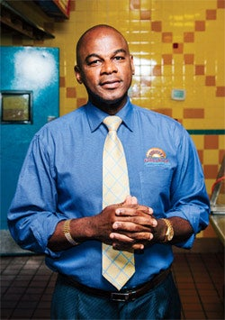 True to his roots: Lowell Hawthorne of Golden Krust Caribbean Bakery.