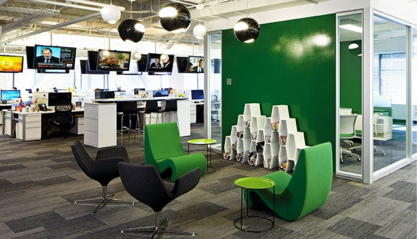 GolinHarris' Chicago headquarters, TPG Architecture