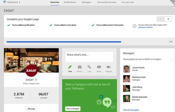 New Google+ Dashboard Lets Businesses Manage Multiple Tasks in One Place