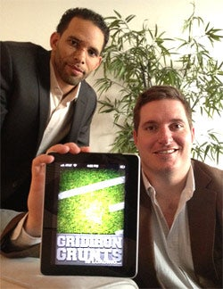 Gridiron Ventures co-founders Ryan Nece (left) and Jeb Terry