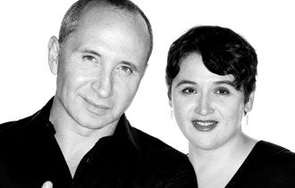 Lev Glazman and Alina Roytberg