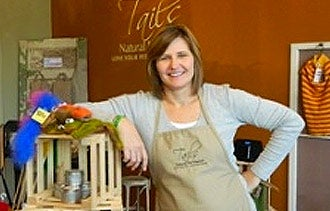 Lisa McGrath of Tails Natural Pet Market