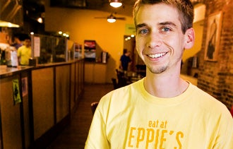 Eppie - his restaurant in Charlottesville