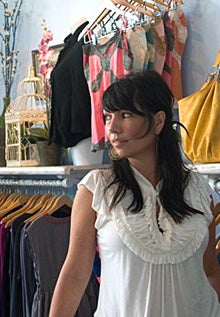 Marmalade boutique owner Hope Colling uses Foursquare to track how often customers frequent her store.