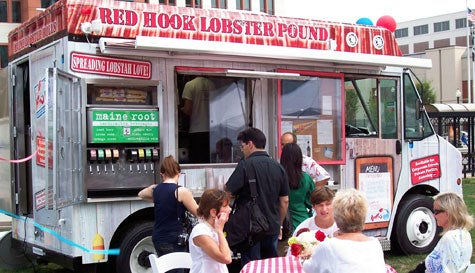 The Red Hook Lobster Pound food truck.
