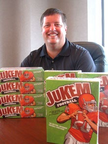 Jeff Spelman, creator of Jukem Football.