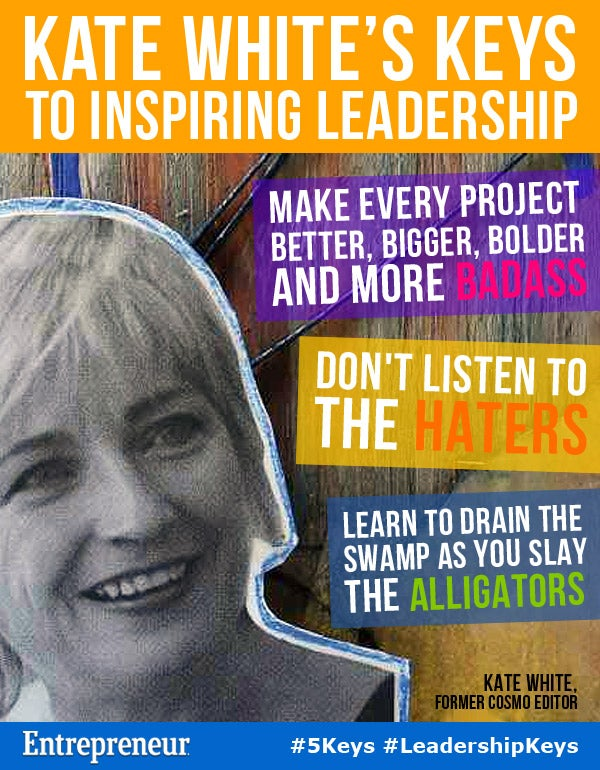 Kate White's Keys to Inspiring Leadership