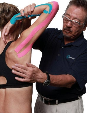 Kinesio tape first rolled out in Japan, but in 2012 CEO Kenso Kase relocated all of the manufacturing to Albuquerque, where Kinesio also has its headquarters.