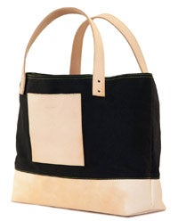 "It's in the bag: Leon + Bella ""Simon"" tote."