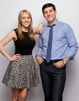 Molly and Jerrod Melman of Lettuce Entertain You Enterprises