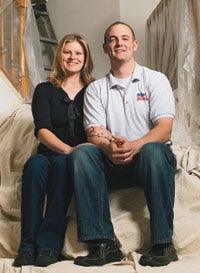 Emily and Matt Shoulp of M&E Painting.
