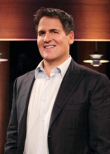 Mark Cuban on ABC's Shark Tank.