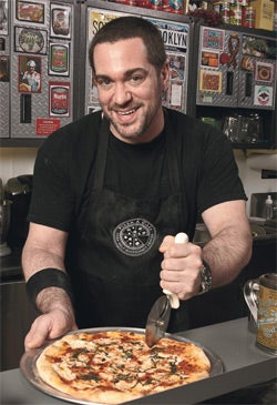 Mark Bello, founder of Pizza a Casa