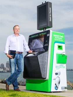 Mark Bowles of ecoATM.