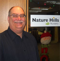 Jeffrey Dinslage, president and co-owner of Nature Hills Nursery
