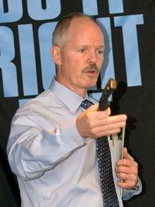 J. Scott Needham, president of Princeton Air Conditioning Inc.