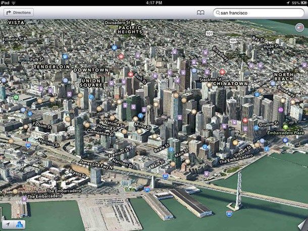 Hands-On With Apples New Maps for iPhone and iPad