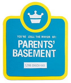 Parent's basement