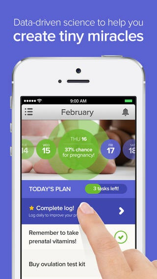 PayPal Co-Founder's New Baby: An App to Help You Get Pregnant