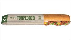 Quiznos' Toasty torpedo