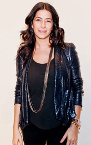 New York-based accessories and apparel designer Rebecca Minkoff.