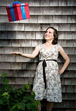 She's got a gift: Regaalo's Jessica Streitmater.