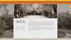 Round Pond Estate winery website before
