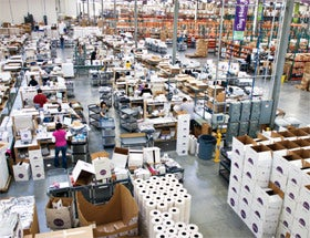 Scentsy Warehouse