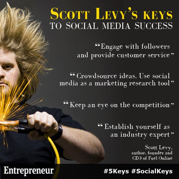 Scott Levy's Keys to Social Media Success