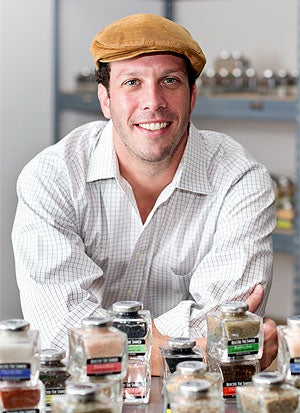 Worth his salt: Scott Rousseau of Beyond the Shaker.