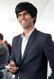 App advisor: Tarun Nimmagadda of Mutual Mobile.