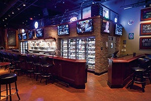 World of Beer offers some 30 rotating taps and 500 bottled brews.