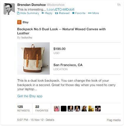 Twitters New Cards Include Features for Business