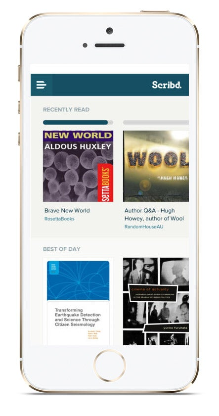 We Test It: Scribd's All-You-Can Read Digital Buffet
